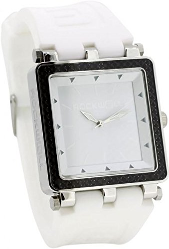Rockwell Time CF Lite Watch, White/Silver