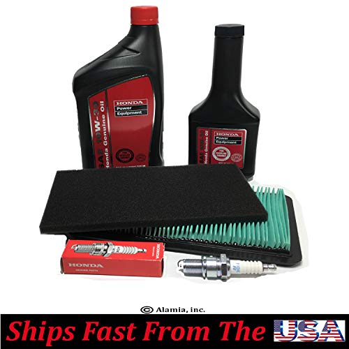 Alamia,Inc Genuine Honda OEM Parts, Maintenance Tune Up Kit, for Honda EU7000iS Generators, Air Filters, Engine Oil, Spark Plug,