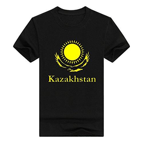 Llynice Kazakhstan Borat Funny Movie Middle East Funny Mens CottonT-Shirt(X-Large,Black) - Borat Movie T-shirt