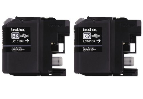 Brother LC 101BK Cartridge Black 2 Pack product image