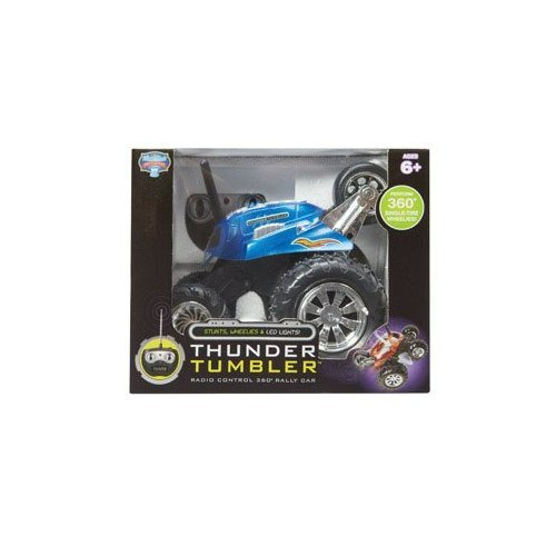 BLUE HAT TOY COMPANY THUNDER TUMBLER RC SPINNING CAR - 1645854 (Blue Hat Toy Company Thunder Tumbler Rc Car)