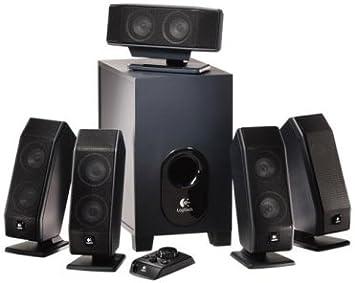 Logitech X-540 Speakers Conjunto de Altavoces 5.1 Canales 70 W ...