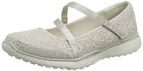 Natural Skechers Microburst Cleanse Beige Janes Pure Femme Mary A4Aw0q