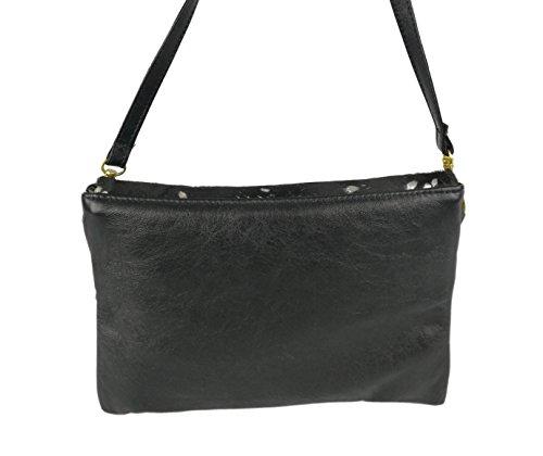 in Zerimar brown Women's Shoulder Black Bags dark Women's Size Shoulder Women's 62x7 Bags Handbags Handbags Colour Silver 10 raPqZwr
