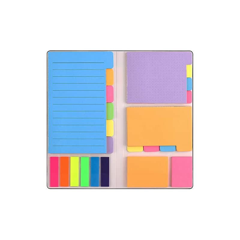 sticky-notes-set-with-bookmark-index