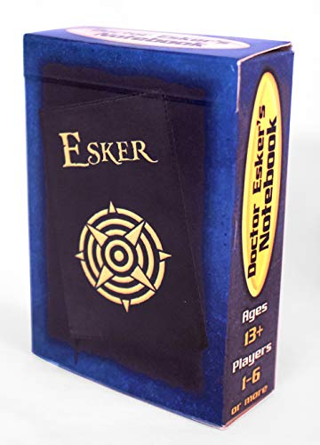 Doctor Esker's Notebook, a Puzzle Card Game in The Style of Escape Rooms (Escape The Room Stargazers Manor Board Game)