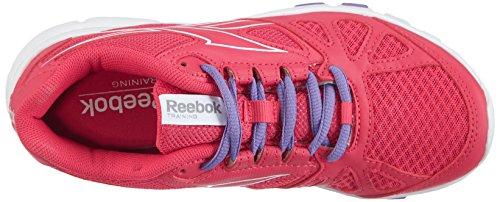 Reebok Yourflex Trainette RS 6.0 Damen Hallenschuhe Pink (Blazing Pink/White/Lush Orchid)