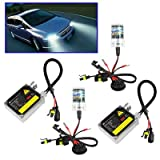 Car Bulbs 55W H8 HID Xenon Light, High Intensity Discharge Lamp, Color Temperature: 8000K (SKU : S-cms-1311a)