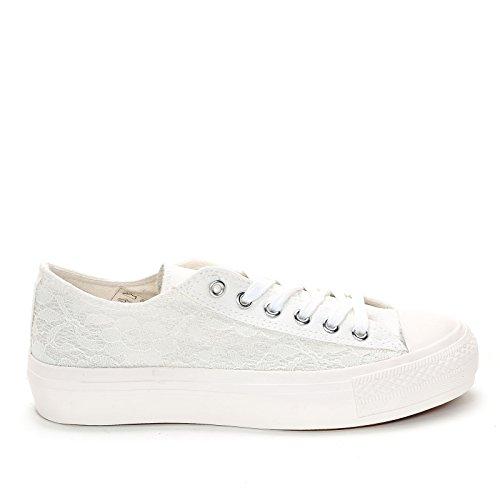 Prendimi Scarpe&Scarpe - Sneaker mit Hohem Absatz - 40,0, Weiss
