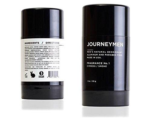 Journeymen - Natural Deodorant Stick 3 oz./85 g