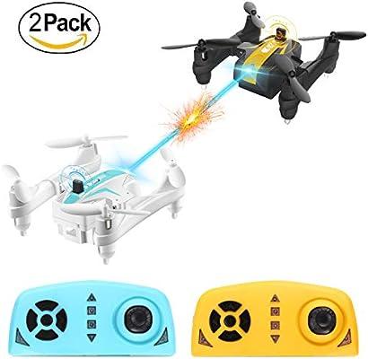 Mini Battle Drone, AgoHike Batalla Plegable Quadcopter 2.4G 4 ...