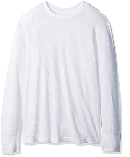 Fruit of the Loom Men's Premium Natural Touch Thermal Top, Arctic White, 4X