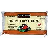 カークランドシグネチャー シャープホワイトチェダーチーズ 907g 1個
