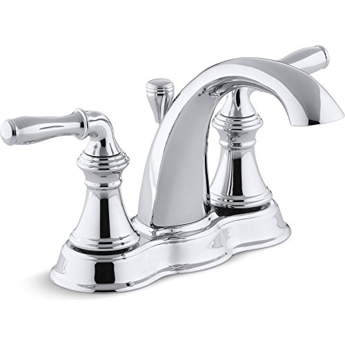 - Devonshire Centerset Bathroom Sink Faucet Faucet Finish: Polished Chrome