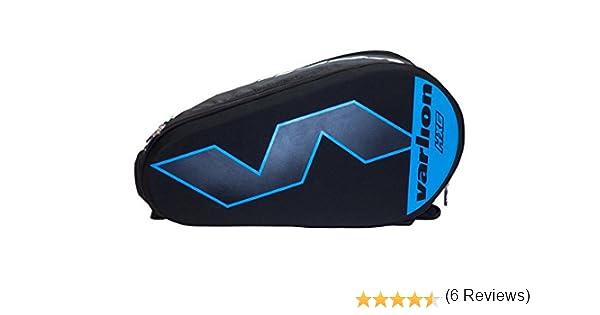 Varlion Hexagon Azul - Paletero de pádel, Unisex Adulto, Azul/Negro: Amazon.es: Deportes y aire libre