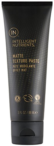 Intelligent Nutrients Matte Texture Paste - Styling Pomade with Matte Finish (3 oz) - Embrace Natural Wax