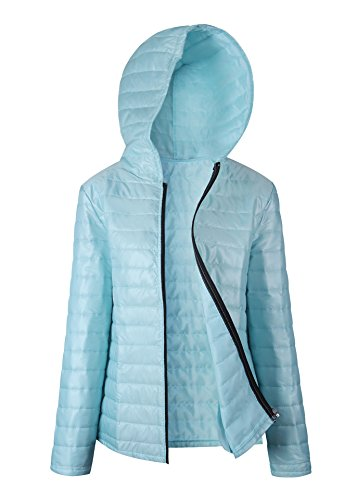 hooded quilted jacket - 9