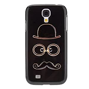 GOG-ships in 48 hours Hat, Glasses and Moustache Design Hard Case for Samsung Galaxy S4 I9500
