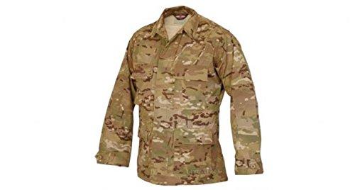 (Tru-Spec Nylon-Cotton Ripstop BDU Jacket, Multicam, Large, Regular Length)