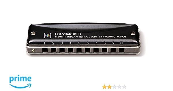 suzuki HARMONICA Hammond C Armónicas Otros: Amazon.es: Instrumentos musicales