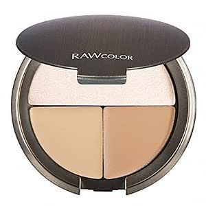 Raw Natural Beauty Raw Color Perfect Balance Concealer and Highlighter Trio - Light
