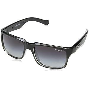 Arnette D-Street Unisex Sunglasses - 2310/8G Black Fade/ Grey Havana/Grey Gradient