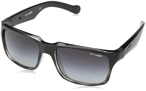 Arnette D-Street Unisex Sunglasses - 2310/8G Black Fade/ Grey Havana/Grey - Prescription Arnette Sunglasses
