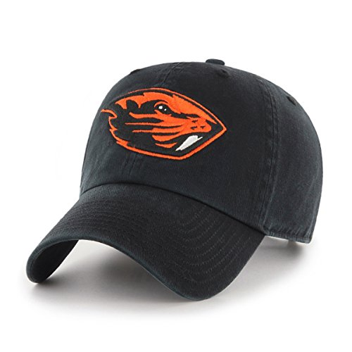 OTS NCAA Oregon State Beavers Challenger Clean Up Adjustable Hat, Black, One (Oregon State Basketball)