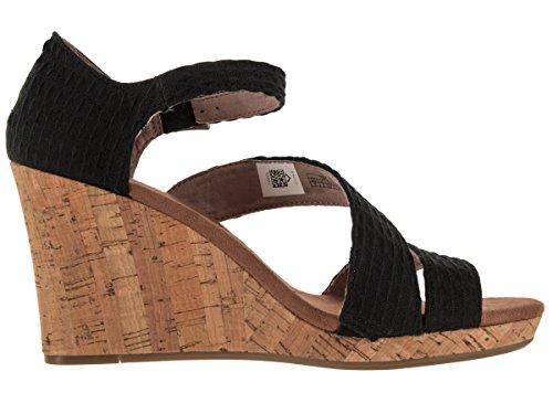 Women's In Color Platforms Black Espadrilles Toms Woman's Textile Black d1xwHIc4Wq