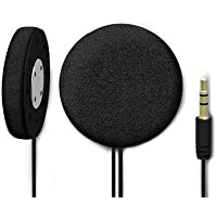 UCLEAR Digital Pulse Wired Drop-in High Definition Helmet Speakers Compatible with iPhone and Android OS
