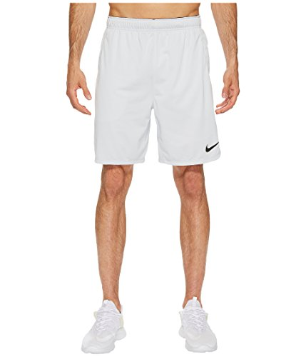 Nike Dry 8 Training Short Pure Platinum/Black Men's Shorts, Size Medium by NIKE