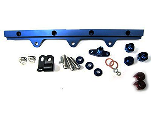 OBX Performance High Flow Fuel Rail Kit 94-97 MAZDA MIATA MX-5 1.8L Blue Version - Rail Performance High Fuel