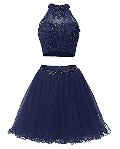 Leader of the Beauty - Vestido - para mujer azul marino