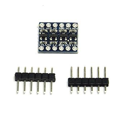 Gikfun 4 Channel IIC I2C Logic Level Converter Bi-Directional Module For Arduino EK1474 by Esooho