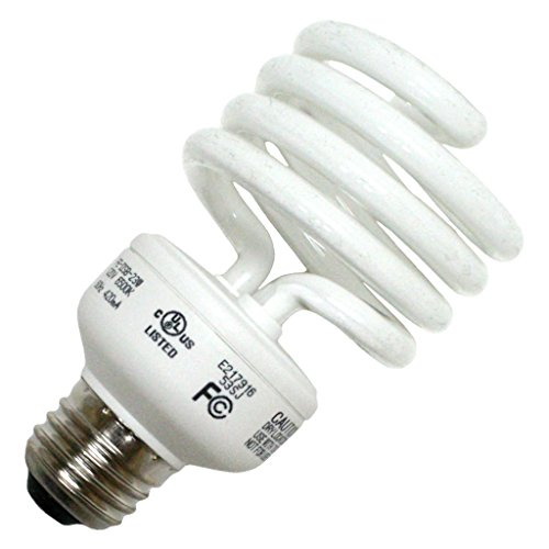 Long Star 23W 120V Daylight White Spiral CFL Bulb ()