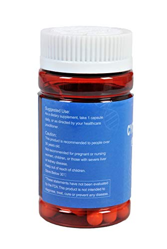 CAW Hypersorption Cycloastragenol | 25Mg 30Enteric-coated Capsules 3bottles(90caps in Total) | Telomere Support Supplement  by CAW (Image #3)