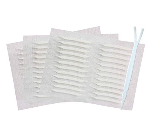 480PCS / 240Pairs Both Sides Sticky Ultra Invisible Double Side Eyelid Tape Stickers Big Eye Decoration Instant Eyelid Lift Without Surgery Perfect for Hooded, Droopy Uneven, Mono-eyelids (Eyelid Surgery Lift)