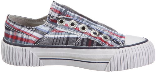 Women's Blau blue Trainers Nn Venice red Checker Melmac Z5CcFq