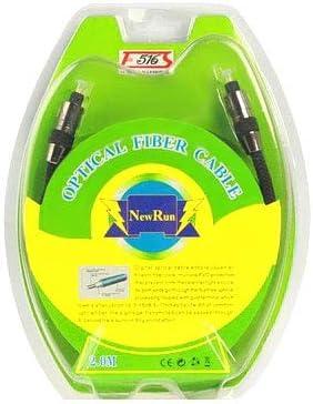 GHFP Gevlochten optische audiokabel, OD: 5,0 mm, Lengte: 2m
