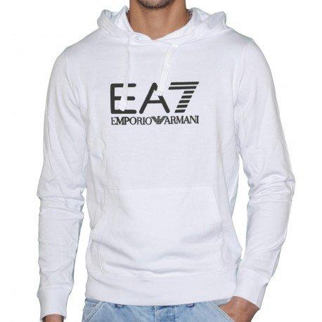 Emporio Armani-Sudadera con capucha para hombre blanco small: Amazon.es: Ropa y accesorios