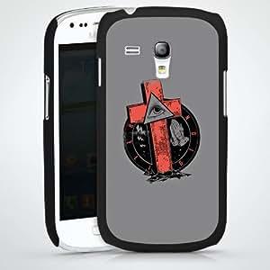 Carcasa Design Funda para Samsung Galaxy S3 Mini I8190 HardCase black - Eye Of The Grave