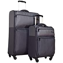 """it luggage Duotone 4 Wheel 2 Piece Luggage Spinner Set: 28"""" and 18"""""""