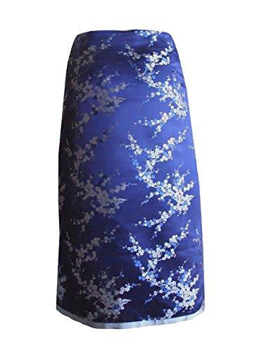 Broccato-Rock di Heidi Wuyek heliobil Asia, 6125-40 blu-argento, taglia 40