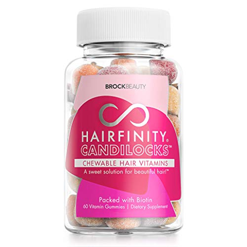 Hairfinity Candilocks Chewable Hair Vitamins – Gummies Scientifically formulated with Biotin, Inositol, and Choline for…