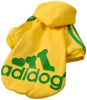 Eastlion Adidog Hund Pullover Welpen-T-Shirt Warm Pullover Mantel Pet Kleidung Bekleidung