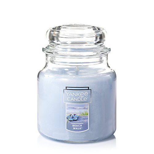 Yankee Candle Medium Jar Candle, Beach Walk