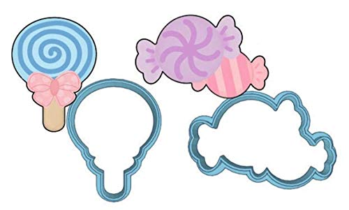 Candy Cookie Cutter - American Confections - Lollipop, Bow, Candyland, Halloween