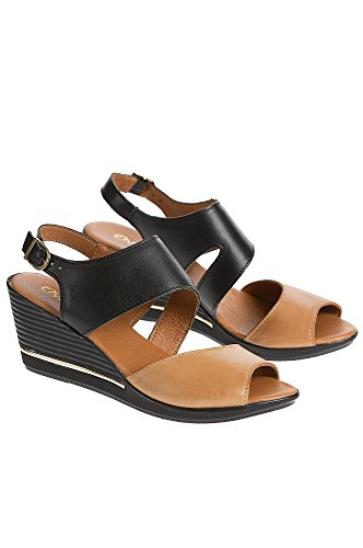 womens-overland-florina-leather-wedge-sandals-black-camel-size-eu36