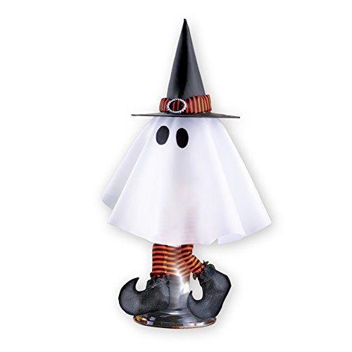 Animated Halloween Ghost Witch Decor Tabletop, (Animated Ghost)