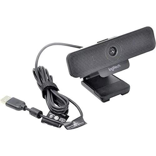 Web Camera C925 Logitech 1080 com microfones omnidirecionais